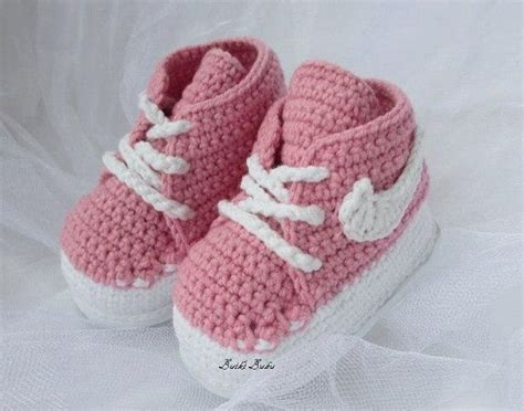pattern crochet nike booties pinterest the world s catalog of ideas