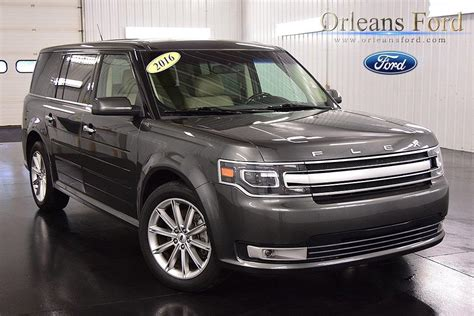 ford crossover 2016 2016 ford flex crossover awd for sale 101 used cars from