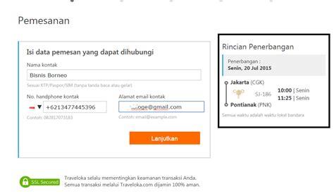 cara membuat barcode tiket pesawat cara pesan tiket pesawat online di traveloka informasi