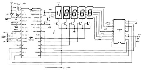 cathode led display simple cathode led display circuit diagram electronic circuits diagram