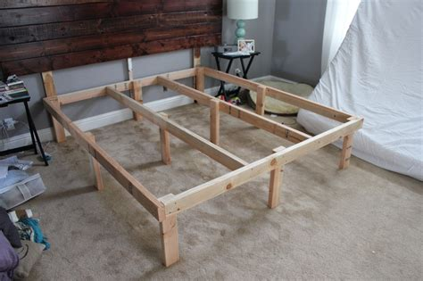 2x4 bed frame at home with the hansens diy the 100 platform bed box