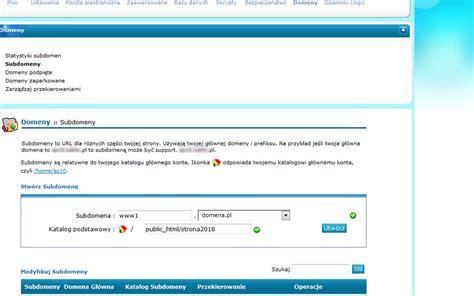 joomla tutorial na srpskom przekierowanie domeny na katalog problemy z cpanel em