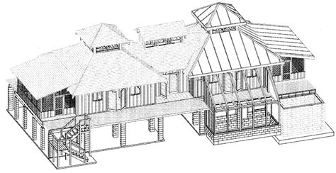 cad house powerrendering 3d architectural rendering