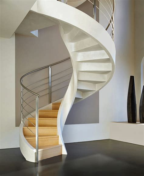 Spiral Stairs Design Spiral Staircase In Lightweight Concrete By Rizzi