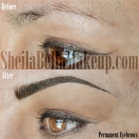 the progress of permanent makeup sheila bella permanent bella permanent makeup microblading life style by