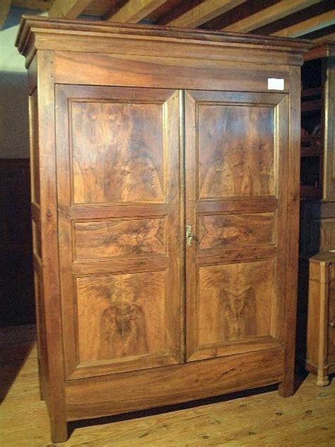armoire louis philippe ancienne armoire louis philippe en noyer ancienne antiquites brocante de la tour meubles anciens