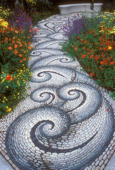 Mosaic Ideas For Garden Best 25 Pebble Mosaic Ideas On Pinterest