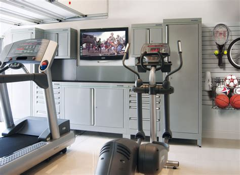 get fit from home this year with a dura garage