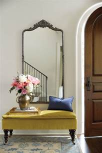 Entryway Table With Mirror 10 Ways To Fill A Blank Wall How To Decorate