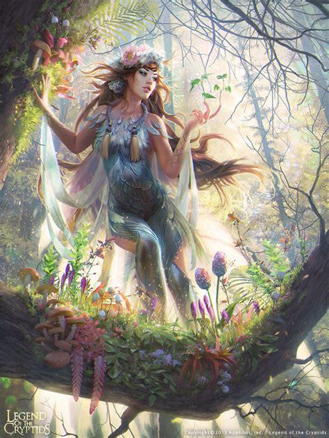 painting now forest spirit 02 by janaschi on deviantart