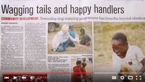 the home of great south african news sa good news watch training the pups of sa the home of great south