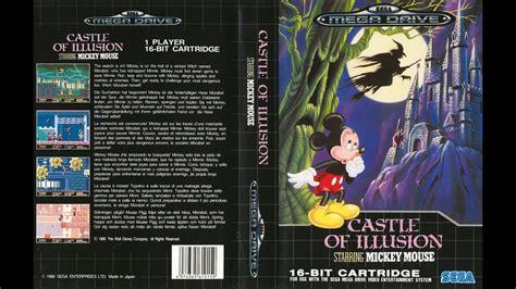 castle of illusion genesis castle of illusion mickey mouse sega megadrive genesis