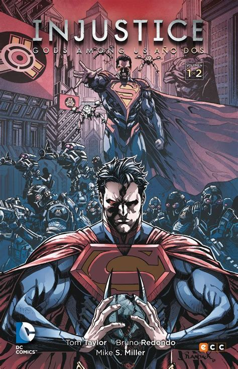 libro injustice gods among us quot injustice gods among us a 241 o dos 1 quot tom taylor bruno redondo y mike s miller ecc c 243 mics