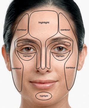 where do you put your makeup on how to contour and sculpt your face using bronzer