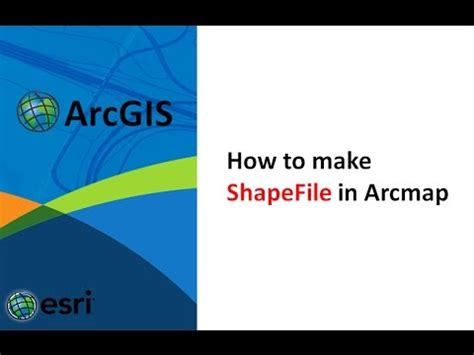 Arcgis Online Tutorial For Beginners | how to make shapefile in arcgis creating a shapefile in