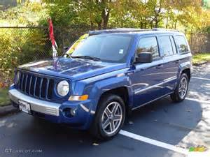 Blue Jeep Patriot 2009 Water Blue Pearl Jeep Patriot Limited 20243648