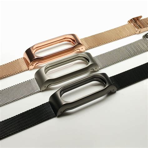 Miband 2 Mi Band 2 Bracelet Metal New Xiaomi Miband 2 sale screwless xiaomi mi band 2 wrist for miband 2 smart wristband bracelet alloy