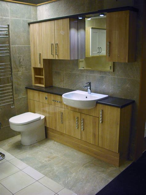 fitted bathroom furniture ideas natura gloss applewood fitted furniture best kitchen bathroom tile ideas