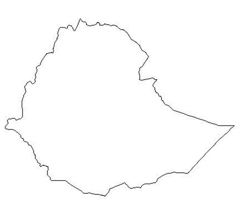 ethiopia map coloring page ethiopia map free coloring pages