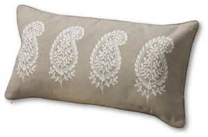 12 quot x 24 quot painted paisley decorative pillow cover