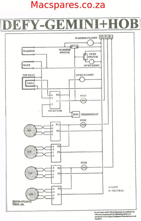 electric oven and hob wiring diagram somurich