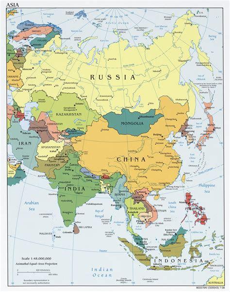 Asia E Mba by Kaart Azi 235 Kaart Topografie Landen Azi 235