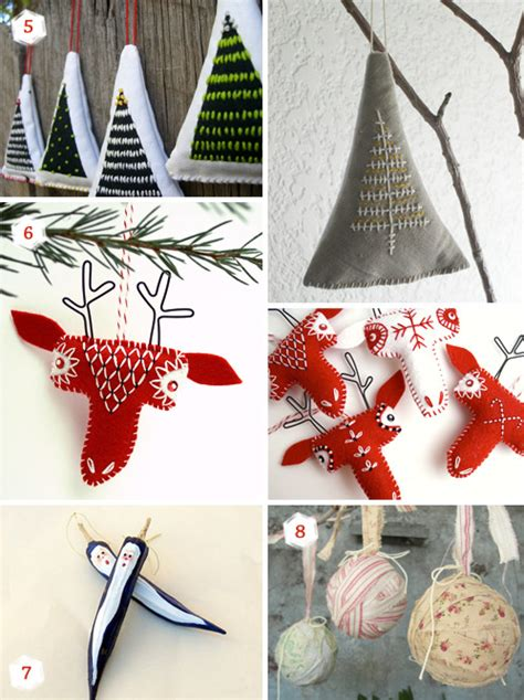 Handmade Ornament Ideas - 11 ornaments ideas for your special handmade