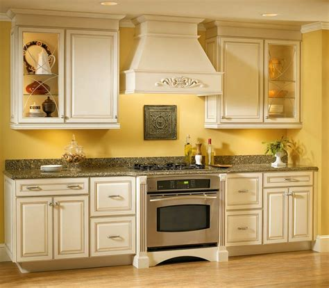 Kitchen Color Ideas For Small Kitchens Vibrant Yellow Kitchen Color Idea For Small Kitchen Interior With Ornamental Details Inspiring