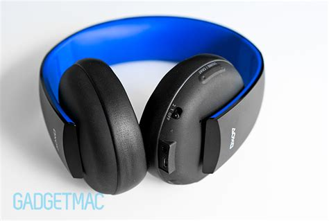 Sony Gold Wireless Headset sony gold ps4 wireless stereo headset review gadgetmac
