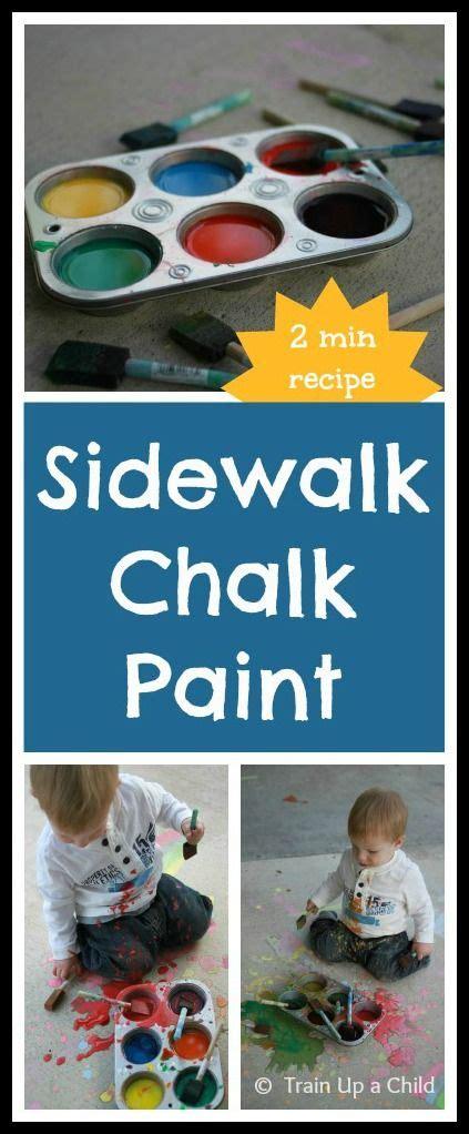 diy chalk paint using cornstarch sidewalk chalk paint this two ingredient recipe