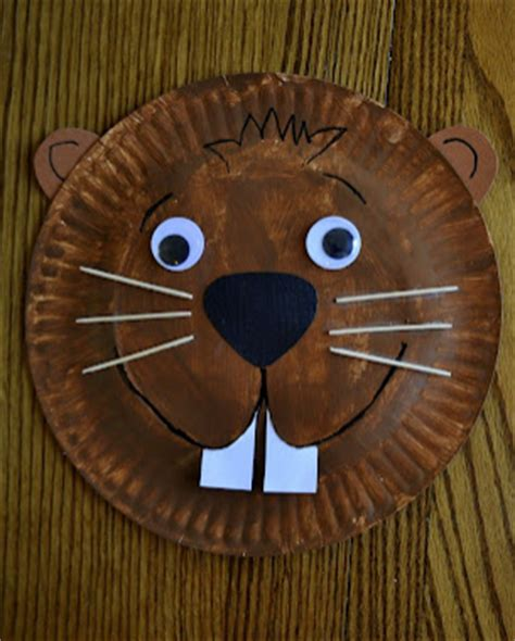 beaver crafts for kids ideas to make beavers with easy paper plate crafts for kids a z c r a f t