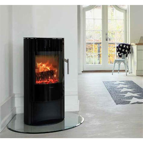 modern freestanding wood fireplace morso s10 40 series modern freestanding wood heater