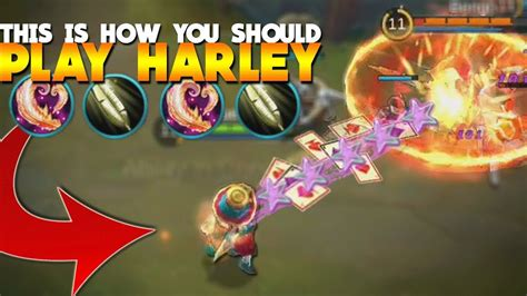 new hero harley 100 a new mage mobile legends youtube harley marksman mage build so epic mobile legends new