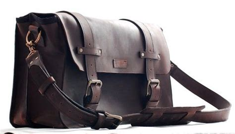 Handmade Leather Briefcase Made In Usa - custom leather computer bag for xl genuine leather