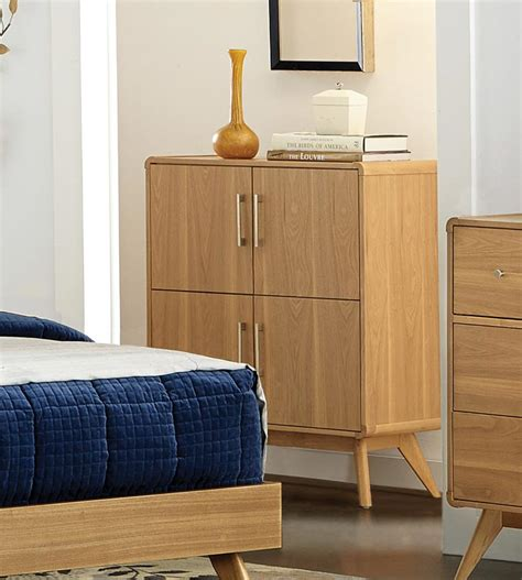 homelegance anika platform bedroom set light ash b1915 1