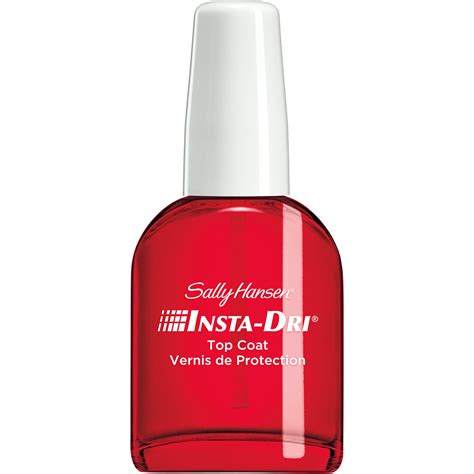 sally hansen top coat dries instantly 2124 0 45 fl oz