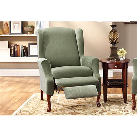 Wingback Recliner Slipcovers by Wingback Chair Slipcovers