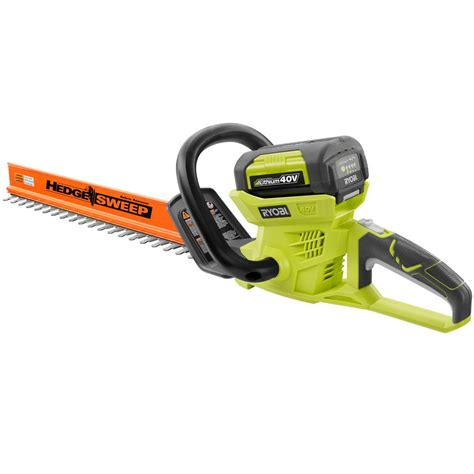 home depot paint trimmer ryobi reconditioned 24 in 40 volt lithium ion cordless