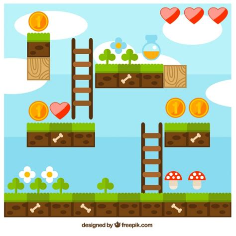 game design vector game pieces vectors photos and psd files free download