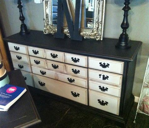 Black Dresser With White Drawers by Dressers White Drawers And Black Dressers On