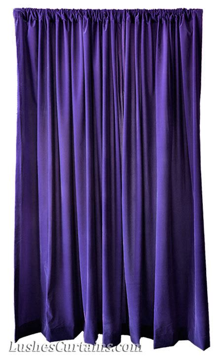 velvet purple curtains purple velvet 108 inch curtain long panels wide ready made
