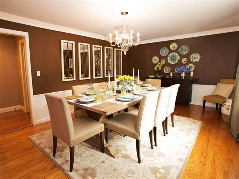 Brown Dining Room by Photo Page Hgtv