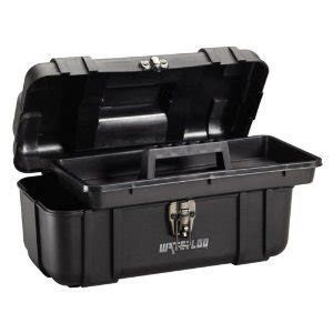 industrial strength 18 inch disposable waterloo portable series tool box made with lightweight industrial strength plastic