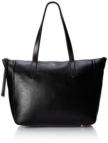 Fossil Sydney Tote Black One Size fossil shoulder bags fossil crossbody espresso