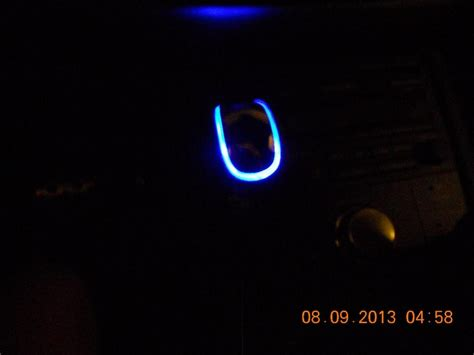 illuminated shift knob