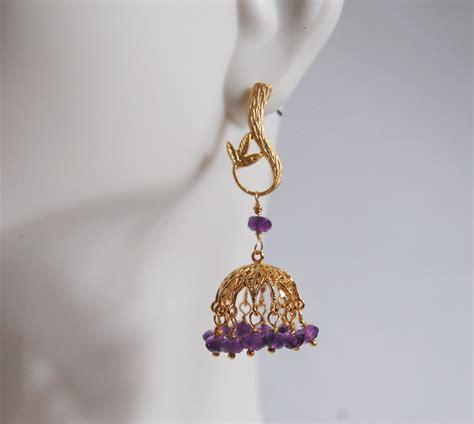 Small Chandelier Earrings Rubelite Small Chandelier Dangle Earrings From Ferozasjewelry On Ruby