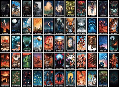 List Of Tarot Cards With Pictures