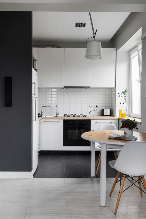 define kitchenette compact bachelor in moscow defined by the mix of