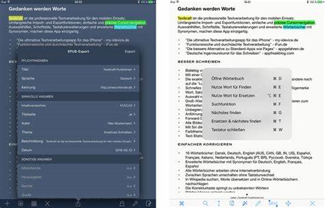 epub format for ipad ipad texteditor textkraft kann e books erstellen ifun de