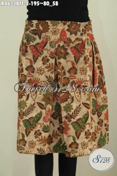 Rok Batik Mini jual rok klok mini berbahan batik modern motif kupu